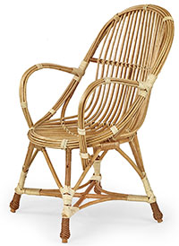 Wicker fonott fotel